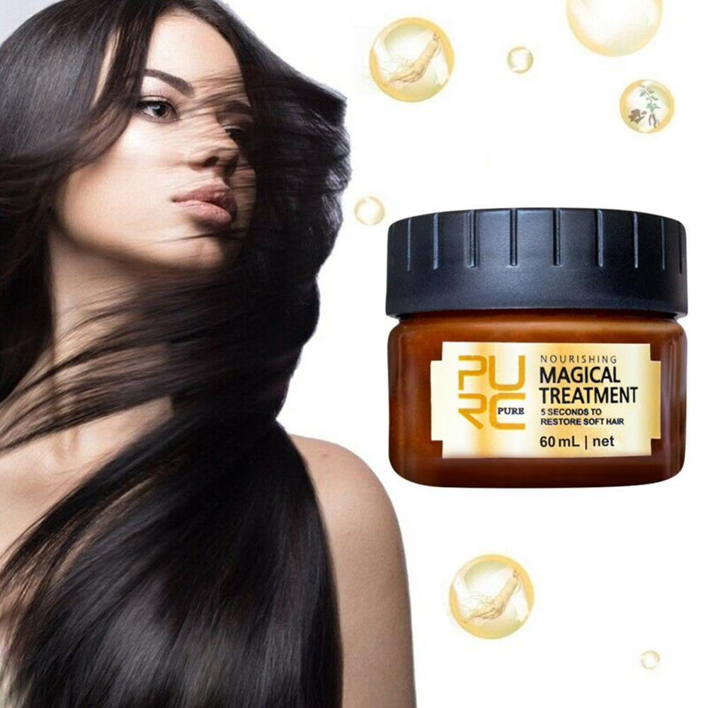 NEW Treatment Mask 5 Seconds Repairs Damage Restore Soft Hair Scalp For All 60ml Types Treatment Hair Hair & Keratin