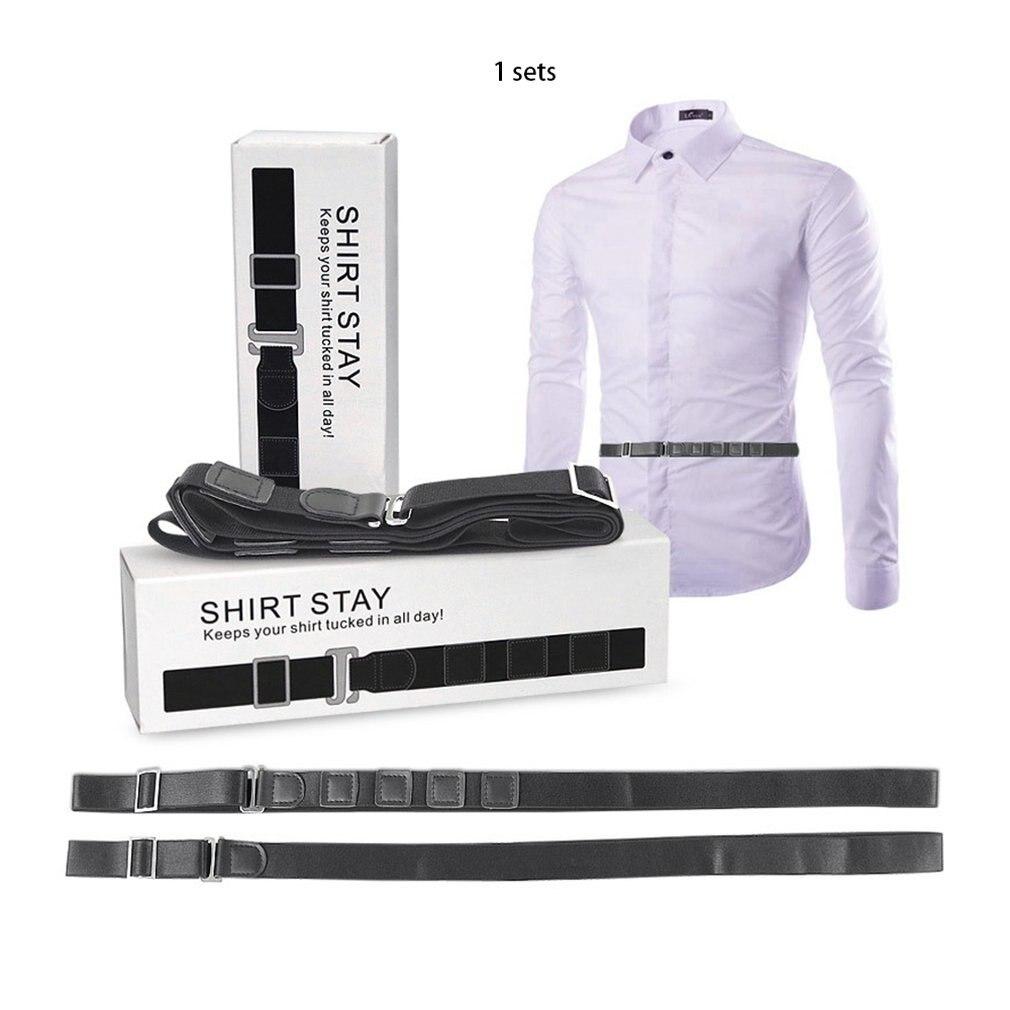 Men/Women Shirt Anti-wrinkle Strap Shirt Dress Holder Adjustable Near Shirt Belt Non-slip Anti-wrinkle Straps