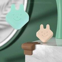 Кролик + голова + форма + угол + протектор + для + детей + безопасный + экологичный + силикон + ребенок + защита + край + крышка + стол + край + угол + защита