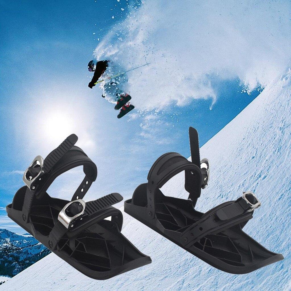 Ski en plein air Mini traîneau neige conseil bottes chaussures de Ski combiner patins chaussures de Ski en plein air taille unique pour tous cadeau pour noël