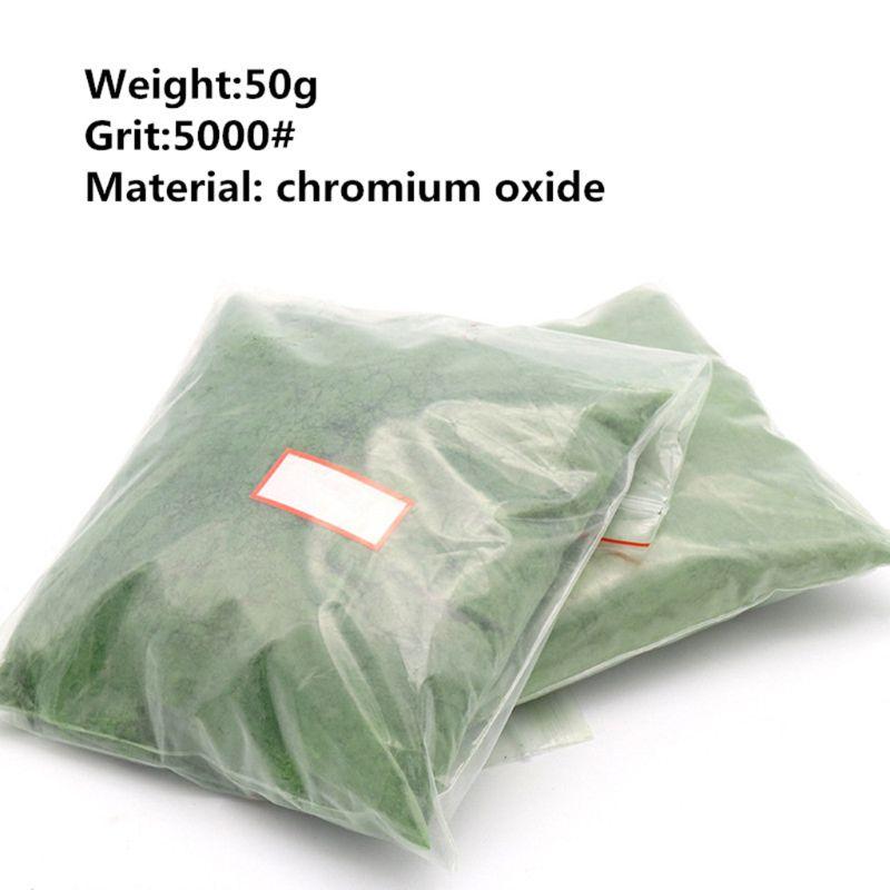 50g Jade Emerald Agate Polishing Powder Glass Composite Chromium Oxide Power C90A