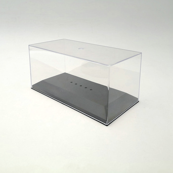 1/43 Model Car Acrylic Case Display Box Transparent Dustproof IXO Plastic Clear image
