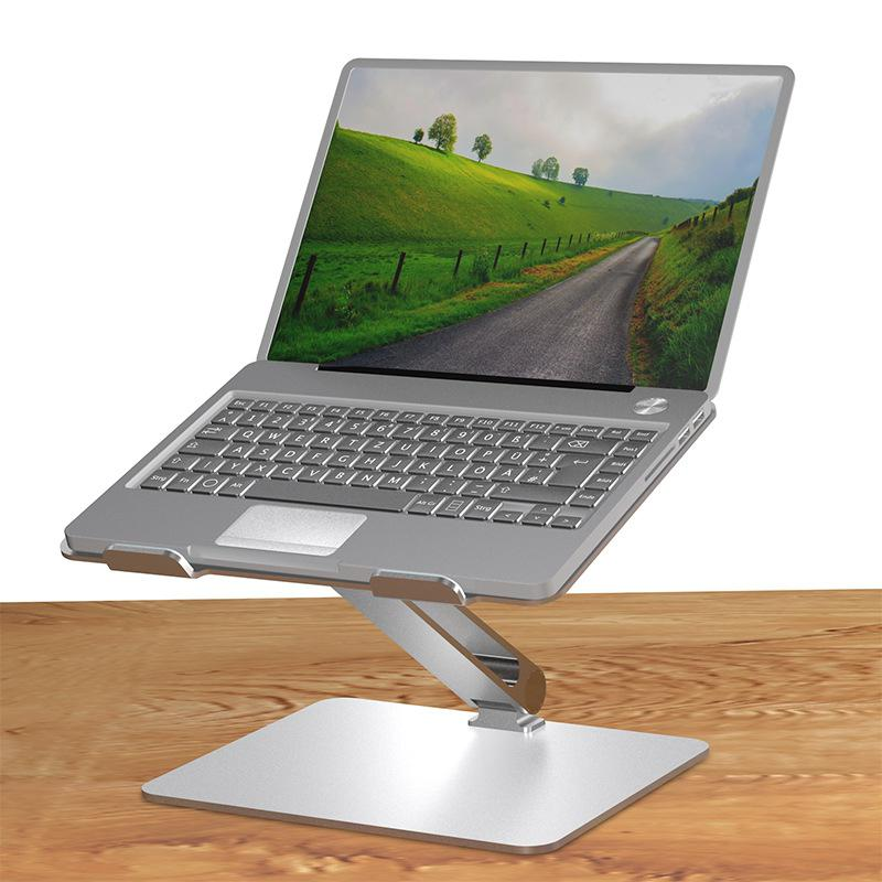 Vertical Adjustable Laptop Stand Aluminium Portable Notebook Mount Support Base Holder for MacBook Pro Air Accessory