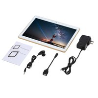 Tüketici Elektroniği'ten Ev Otomasyonu Kitleri'de IPS ekran dört çekirdekli Wcdma Gps 10.1 inç 3G çift kart Tablet