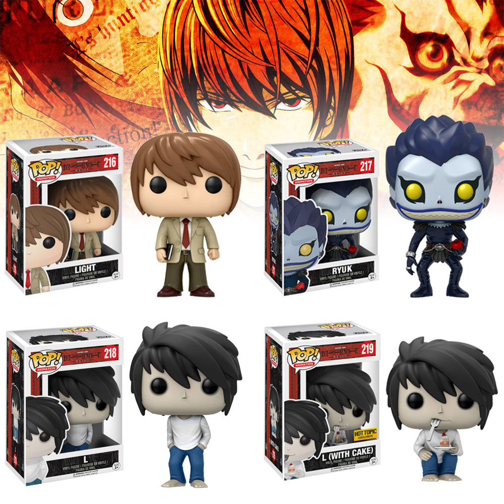 Funko Pop Death Note Ryuuku L·Lawliet   Vinyl Action Figure POP