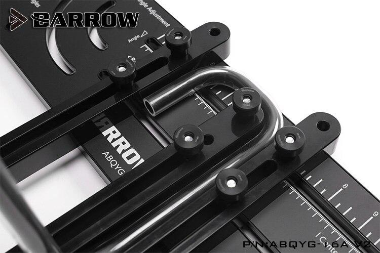 lowest price Barrow ABQYG-16A V2 Multi-angle Acrylic   PMMA   PETG Rigid hard tube bend shape computer water cooling