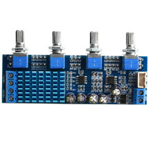 TPA3116 2.0 Amplifier Board Car Digital Amplifier 30W x2 TPA3116 Home TREBLE MIDDLE BASS Adjust for Speaker A2.0-4P(China)