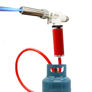 Flame-Gun Gas-Torch Butane Soldering Welding BBQ Autoignition Heating Cooking Portable