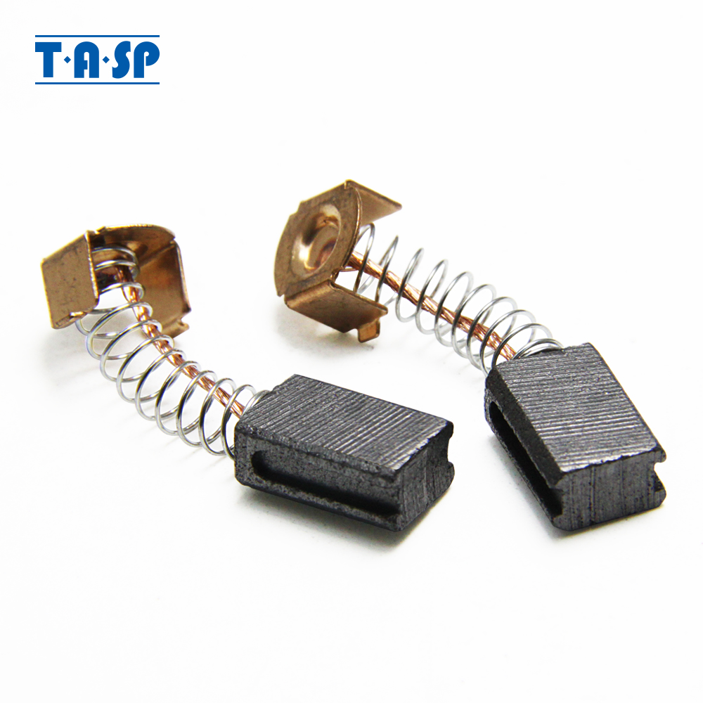 TASP 10 Pairs Carbon Brushes 5x8x12mm For Black Decker G720  Angle Grinder Motor Power tool spare parts
