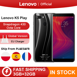 "Image 1 - Global Version Lenovo K5 Play 3GB 32GB Snapdragon 430 Octa Core Smartphone 1.4G 5.7"" 18:9 Fingerprint Android 8 13.0MP Camera"