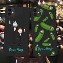 yinuoda rick and morty mr pickles rick newest super cute phone cases for iphone 8 8plus 7 7plus 6s 6splus xsmax x xs xr Funny Cartoon Comic Memes Rick Morty Phone Cover For iPhone X XS XR Max 11 Pro Max 7 8 7Plus 8Plus 6Splus Soft Silicone Case