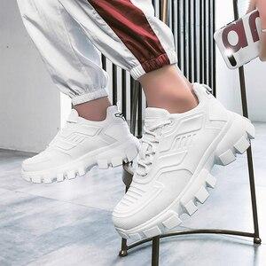 Image 3 - Popularne męskie obuwie trenerzy męskie Sapato Masculino buty do chodzenia Krasovki lekkie męskie buty czarne Tenis Zapatillas Hombre