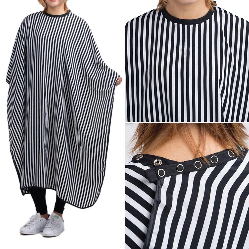 Fashion Striped Salon Hair Cutting Cloth Barber Cape Hairdressing Cape Apron Haircut Capes Hair Styling Tool