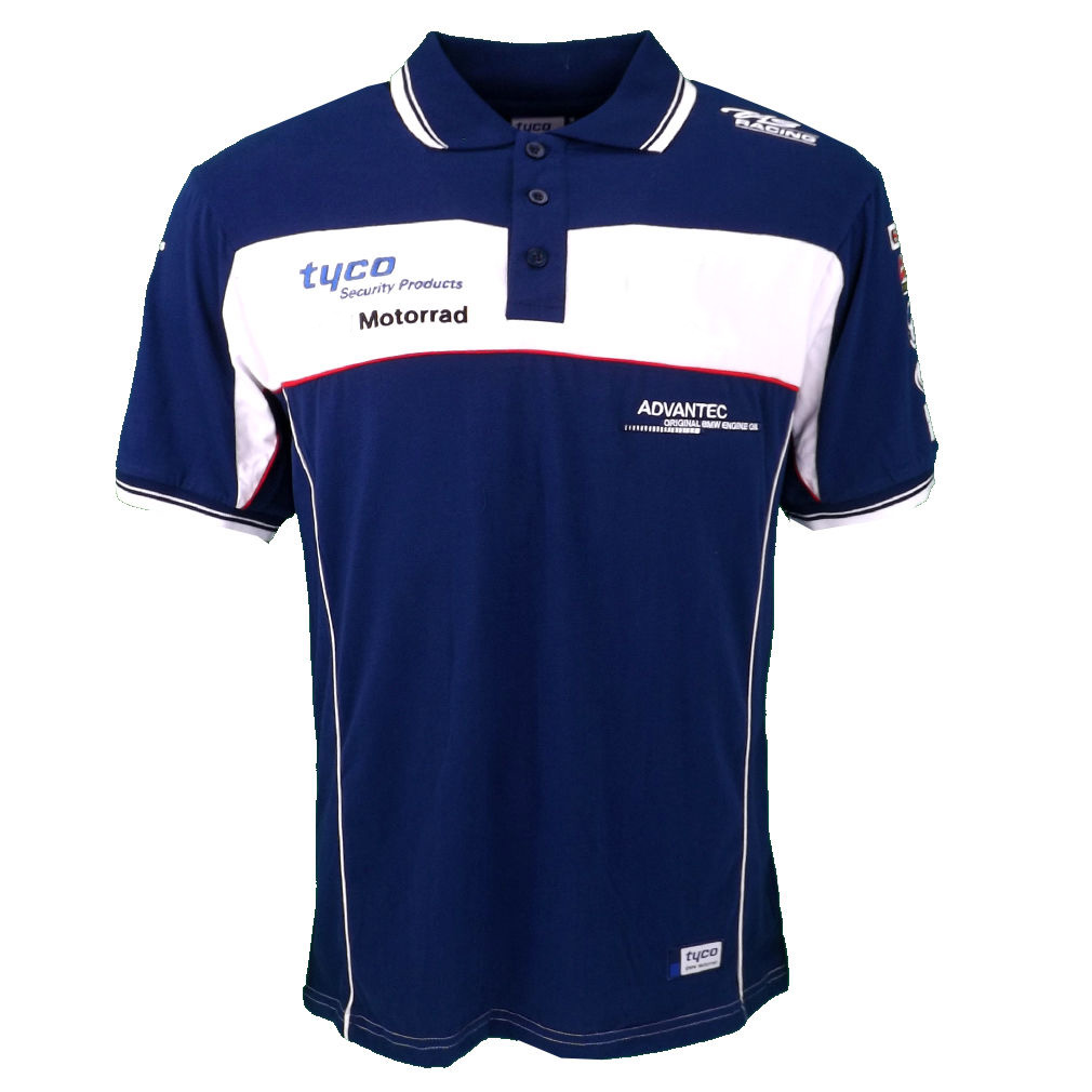 2017 Moto gp Tyco FOR <font><b>BMW</b></font> GS1200 Team Polo <font><b>Shirt</b></font> Motorcycle riding cotton casual short-sleeved <font><b>T</b></font>-<font><b>shirt</b></font> Polo <font><b>shirt</b></font> moto gp summe image