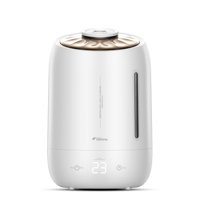 XiaoMi 5L Large Capacity Humidifier Aromatherapy Machine Office Desktop Air Purifier Ultrasonic Nebulizer Household Air Diffuser