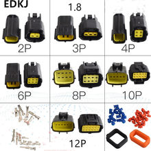 5 Set 1.8 Mm 2/3/4/6/8/10/Pin Otomotif Kawat Listrik konektor Male Female Kabel Terminal Plug Kit Motor Ebike Mobil(China)