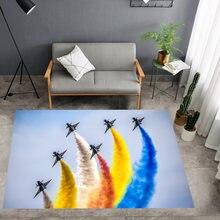 Ковер с 3d принтом дымчатый ковер напольный коврик радужной