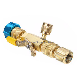 """Image 1 - 11cm Length R22 R410A Air Conditioning Valve Core 1/4"""" Spool Interface Quick Remover Installer Tool"""