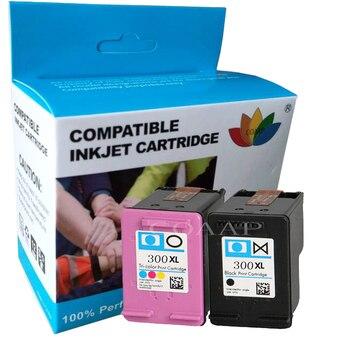 2 kompatybilny wkład z atramentem dla hp 300 XL CC641E CC644E dla HP Deskjet D1660 D2560 D5560 F2420 F2480 F4210 F4272 F4280 F4580