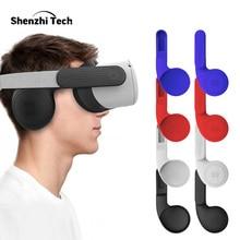 Orejeras de silicona para auriculares Oculus Quest 2, VR, sonido mejorado, accesorios Quest 2, cubierta para extensión de auriculares