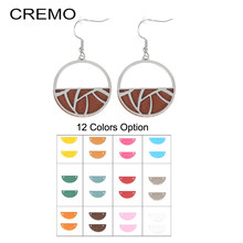 Cremo Fashion Women Love Pendant Earrings Ladies Stainless Steel Jewelry Manchette Interchangeable Leather Jonc Argent Pulseiras