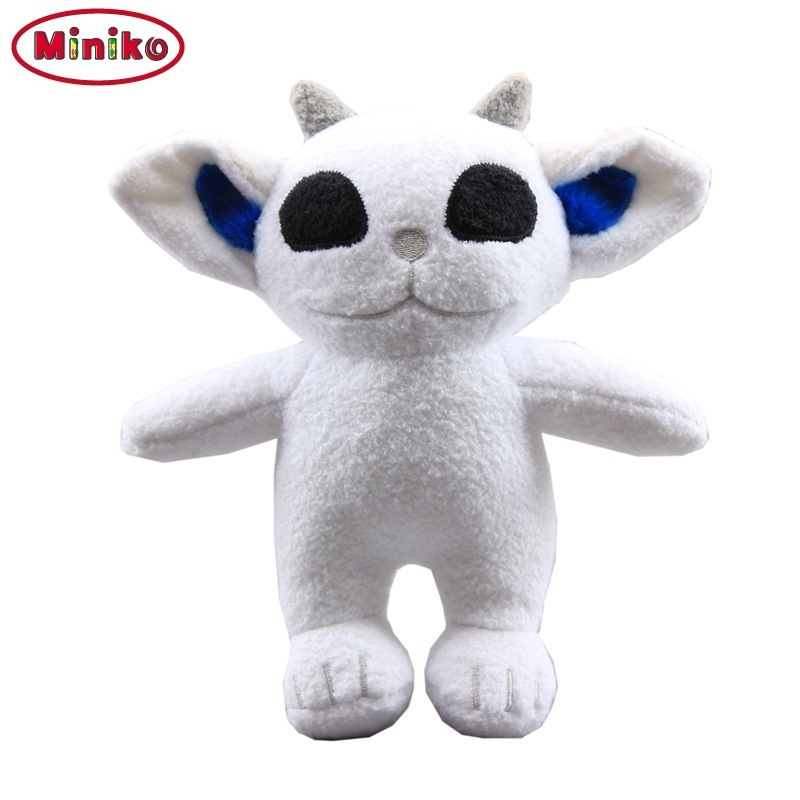 Miniko NEW 20cm White Twenty One Pilots Ned Plush Toys Cartoon Stuffed Animals Doll For Children Kids Gift