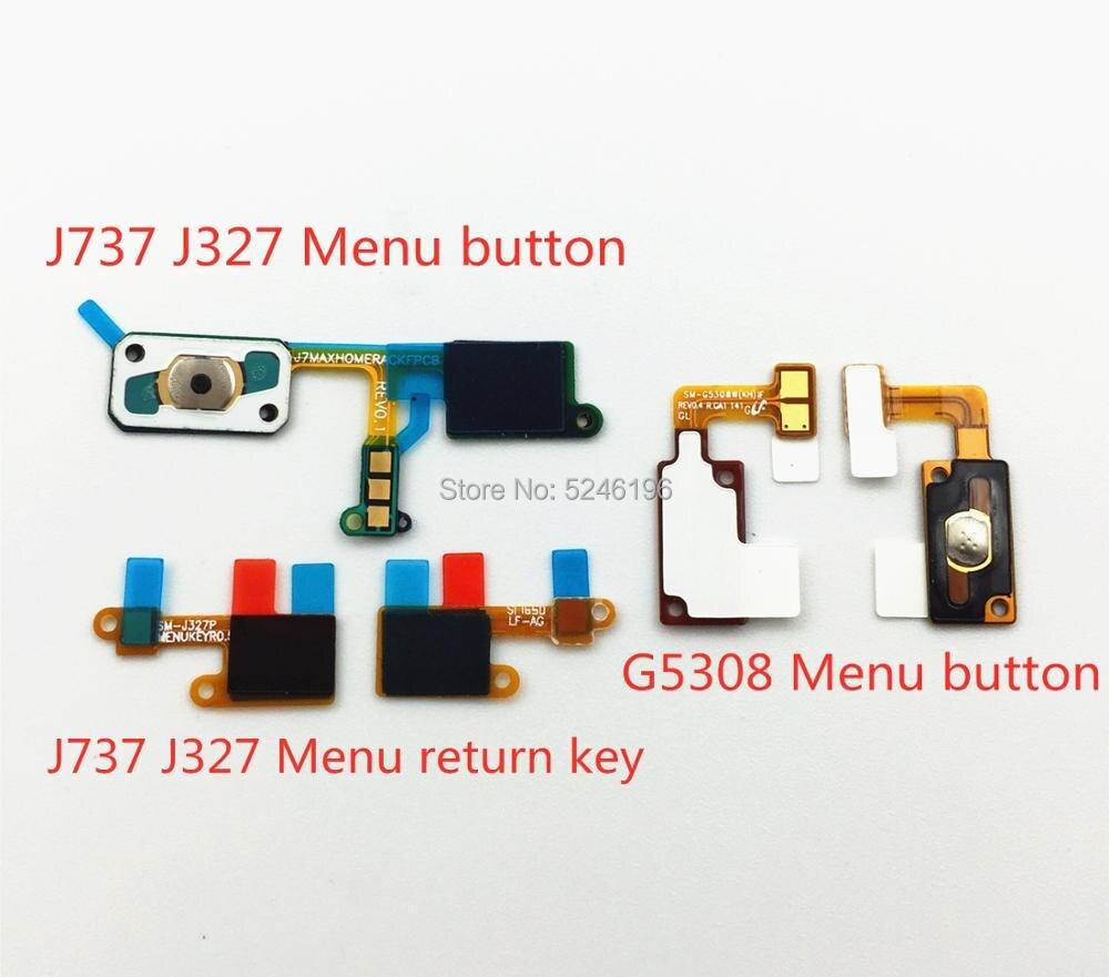 For Samsung Galaxy J737 J732 G5308 Fingerprint Sensor Home Page Return Key Menu Button Flexible Ribbon Cable