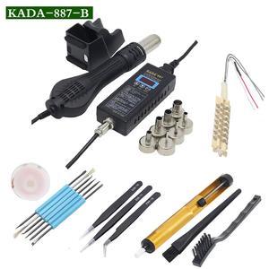 Image 5 - KADA 887 8858 портативный цифровой термопистолет BGA, паяльная станция, воздуходувка горячего воздуха, пистолет для демонтажа, инструменты для ремонта