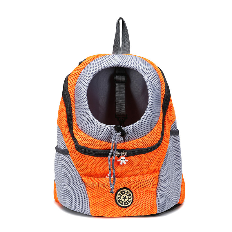 Comfortable Small Dog <font><b>Backpack</b></font> Travel Breathable Mesh Puppy Dogs Carrier Bags LBShipping image