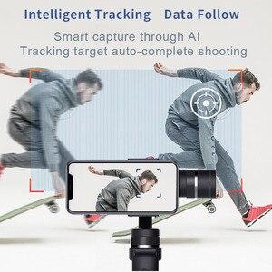 Image 5 - Funsnap 3軸スタビライザー3コンボハンドヘルドスマートフォンiphone用移動プロ7 6 5 sjcam eken李アクションカメラズーム