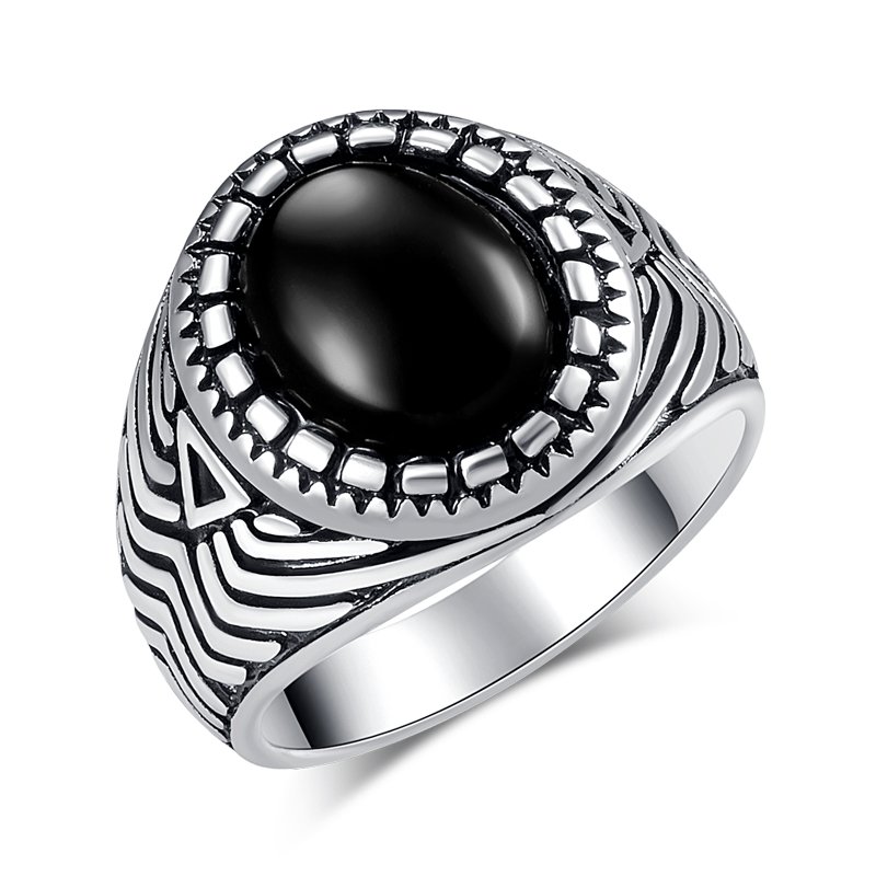 Wbmqda-Vintage-Silver-Black-Stone-Rings-For-Women-Fashion-6-Different-Styles-Big-Man-Ring-Jewelry