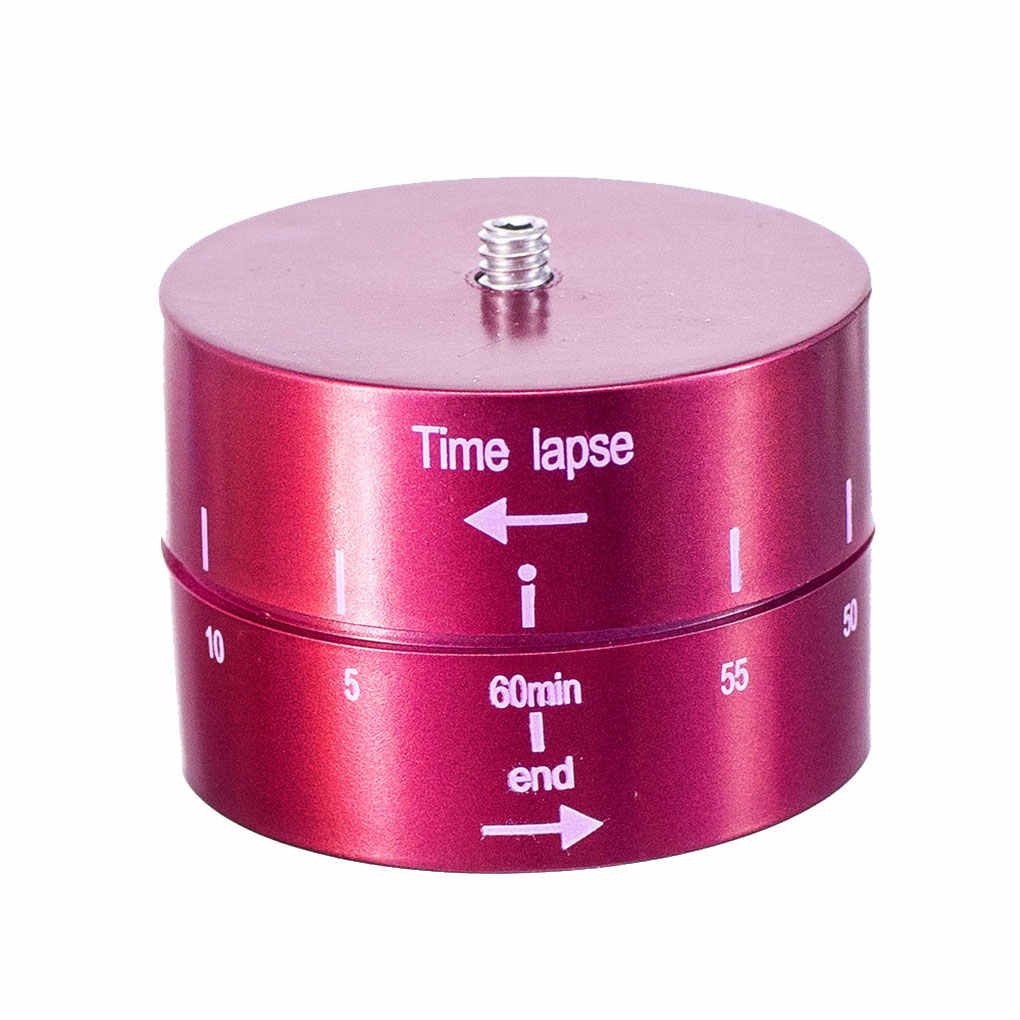 360 Derajat 60 Menit Selang Waktu Timer Otomatis Tripod Kepala Olahraga Kamera Fotografi Penundaan Tilt Adaptor Kit