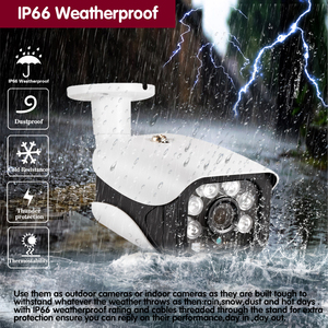 Image 5 - Face Record H.265 SONY IMX322 2560*1440P 4MP AHD CCTV Security Camera Outdoor IP66 Waterproof day night vision Motion Detection