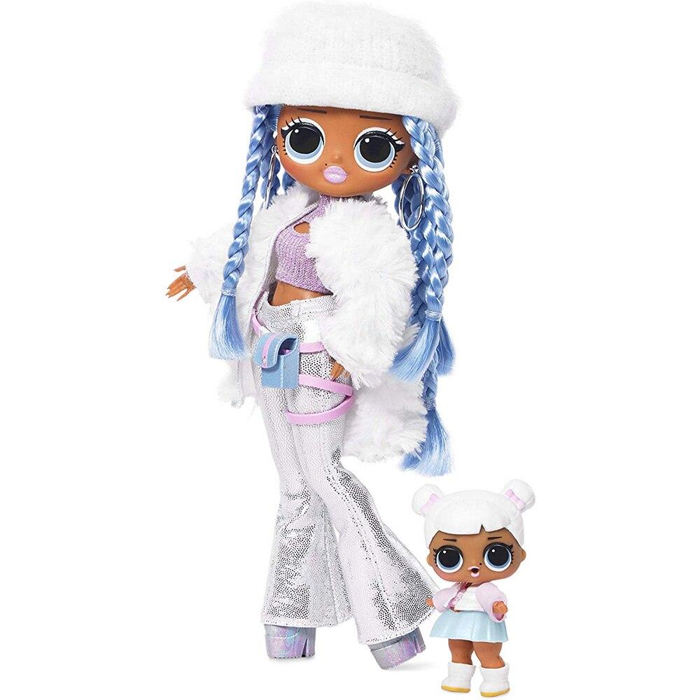 L.O.L Surprise! OMG  Winter Disco Snowlicious Fashion Doll & Sister LOL Doll