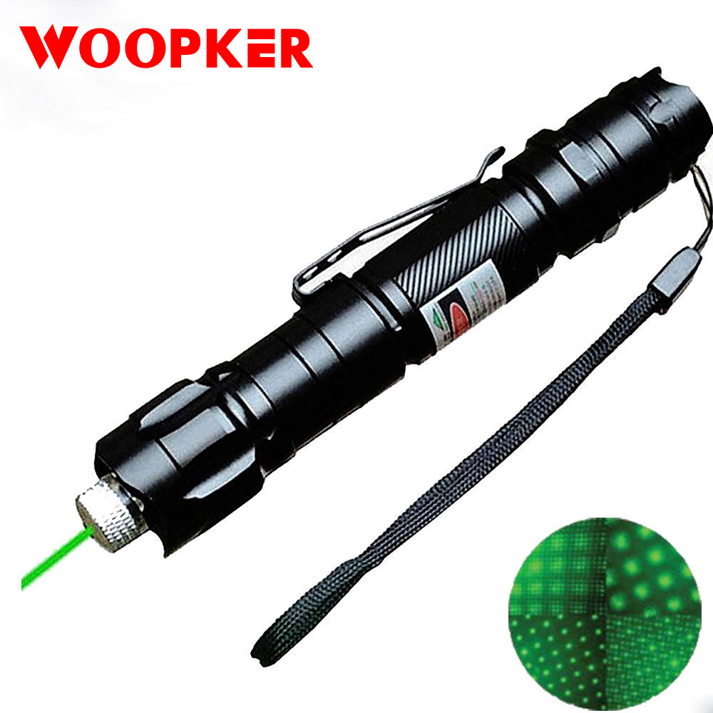 Laser Pen 1000m 5MW Green Laser Sight Military Adjustable Focus Laser Pen With Battery And Charger