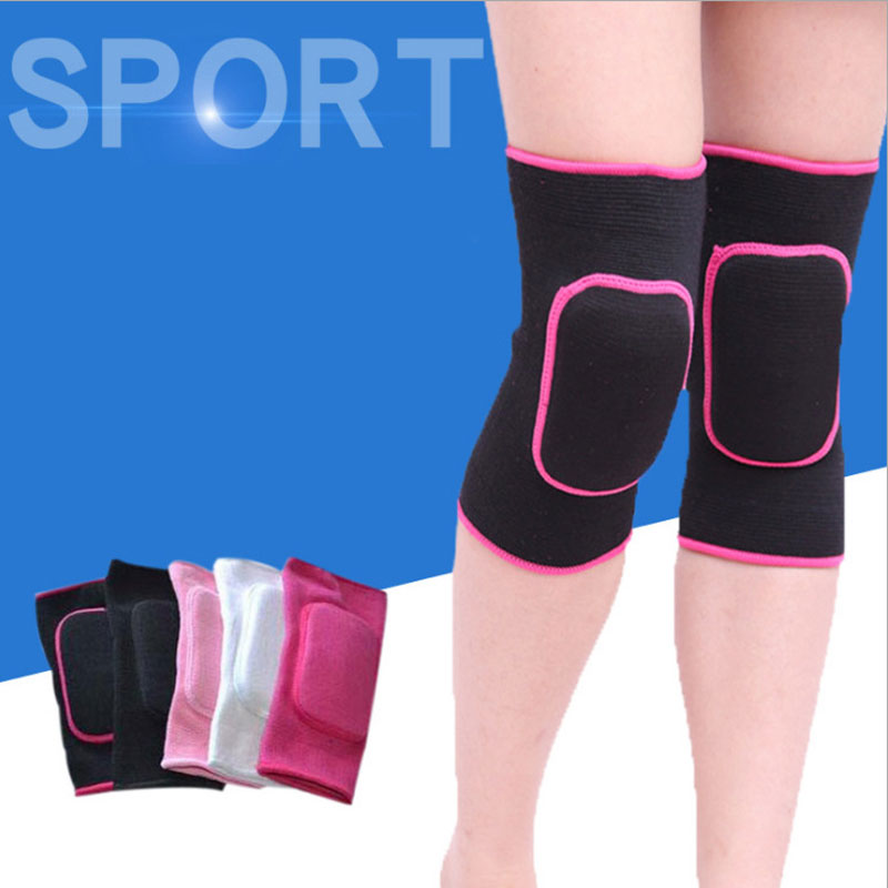 2Pcs Women Kids Dance Volleyball Tennis Knee Pads Baby Crawling Safety Knee Support Sport Gym Kneepads Children Knee Protection