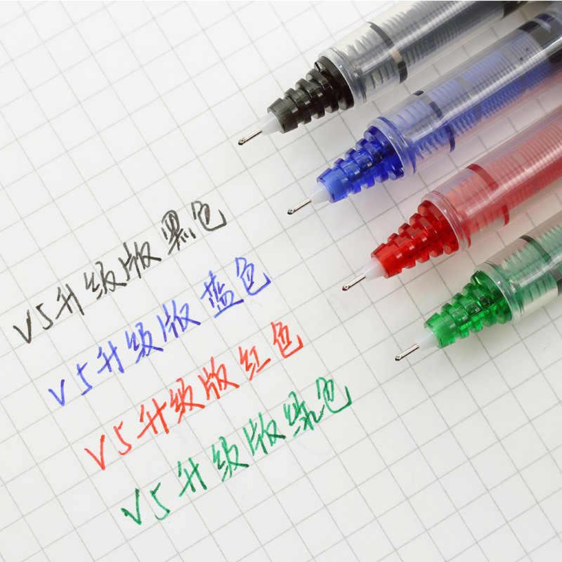 3 sztuk PILOT BXC-V5 wymienny atrament długopis żelowy BX-V5/V7 Upgrade wersja o dużej pojemności Student podpis biurowy długopis