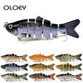 OLOEY 10 см 17 5 г тонущие рыболовные приманки  наживки  соединенные кренкбейт Swimbait  6 сегментов  жесткая искусственная приманка  рыболовные снаст...