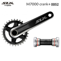 Shimano FC-M7000 SLX M7000 1 x 11 Crank 170mm 175mm 11 speed Mountain Bike bicycle Crankset with BB52 bottom bracket