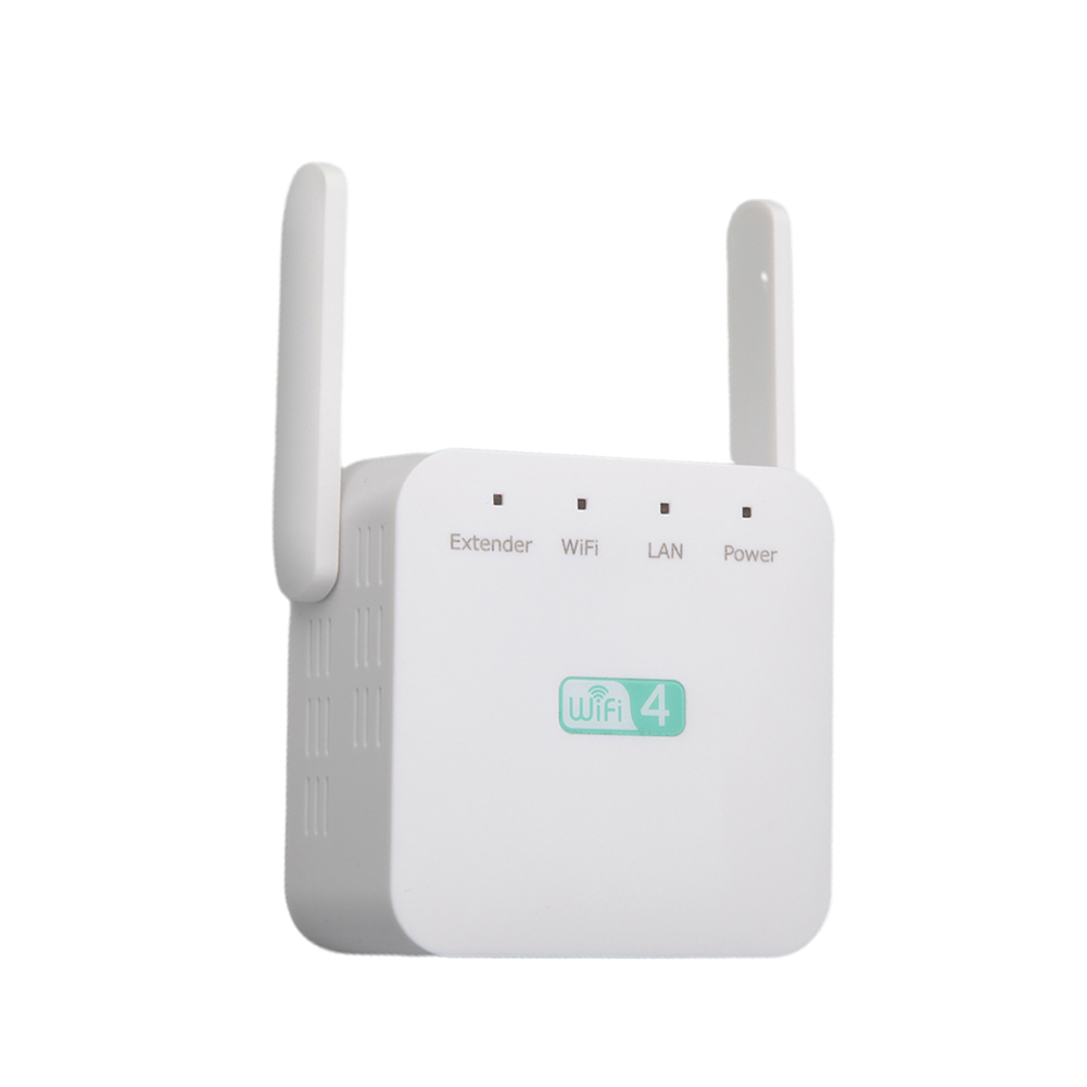 300Mbps Access Point 2.4GHz Universal Range Extender Computer Network ABS Signal Booster Accessories Router Wireless Portable