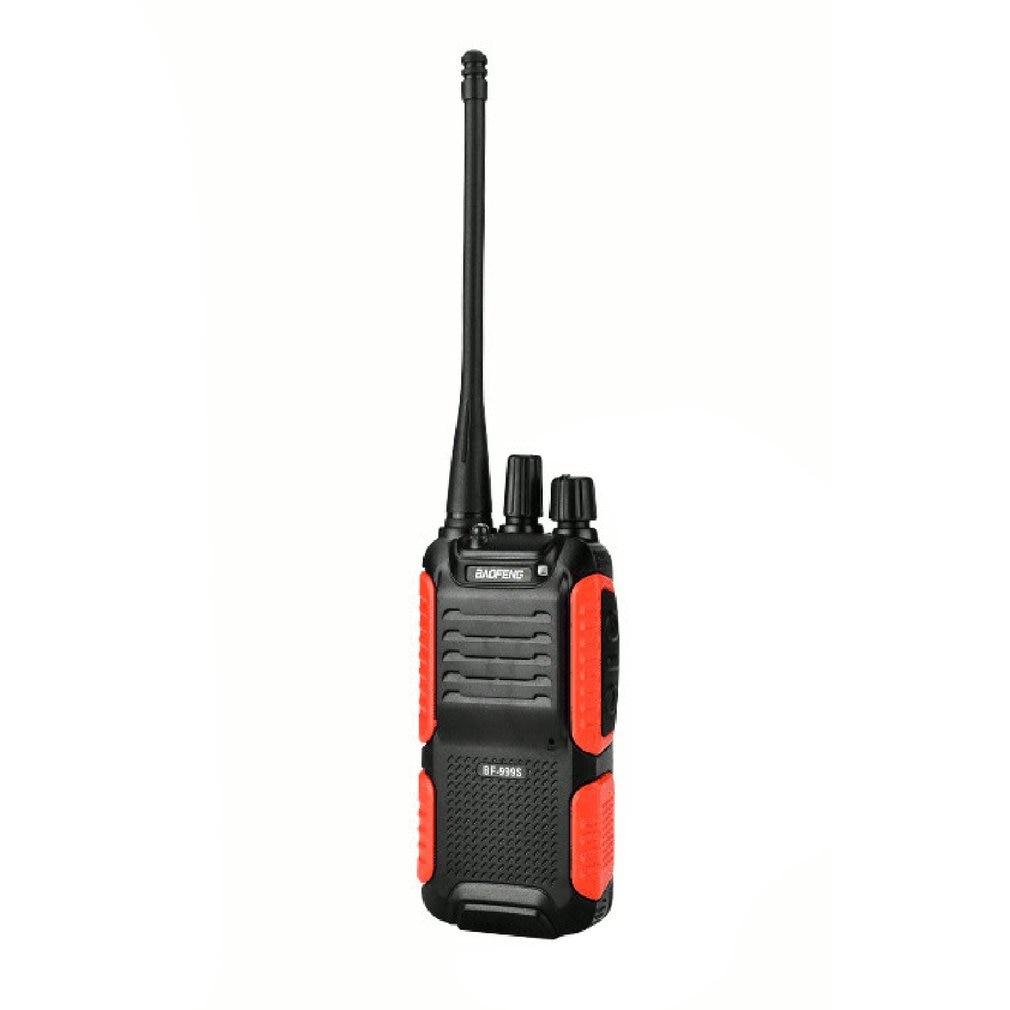 BF-999S UHF 400-470MHz Walkie Talkie Radio Interphone Tansceiver Single Band 2 Way Radio Interphone