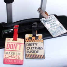 New Suitcases Bag color Luggage Tags identifier Airplane Adventures travel Travel Accessories Luggage Label Tag