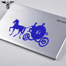 EmpireYing 3 Sizes 8 Colors Cinderella Fairy Tale Beauty Sitting Pretty Carriage Car Sticker Bumper Canoe Styling Vinyl Decal