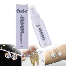 60ml Jewelry cleaner Ring Bracelet Necklace Gold and Silver Care Cleaning Liquid Multi-Function Portable Cleaner white HOT(China)