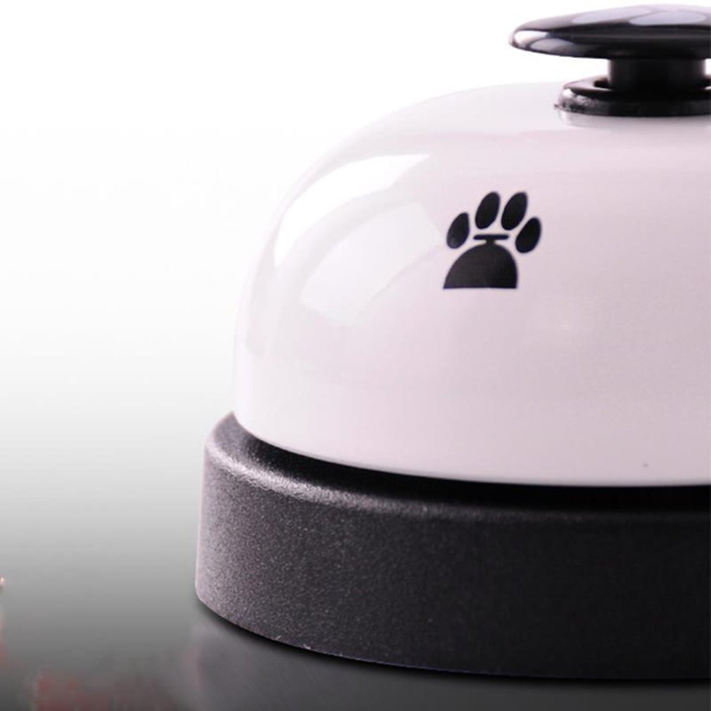 Pet Dog Training Bell Practical Training Bell Non-Skid Rubber Bottom Cute Printed Communication Device for Pet-4