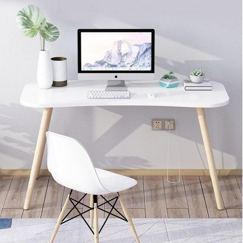 Computer Desk Home Office Dorm Wooden Stand Desk Portable Writing Study Table Notebook Laptop Desk