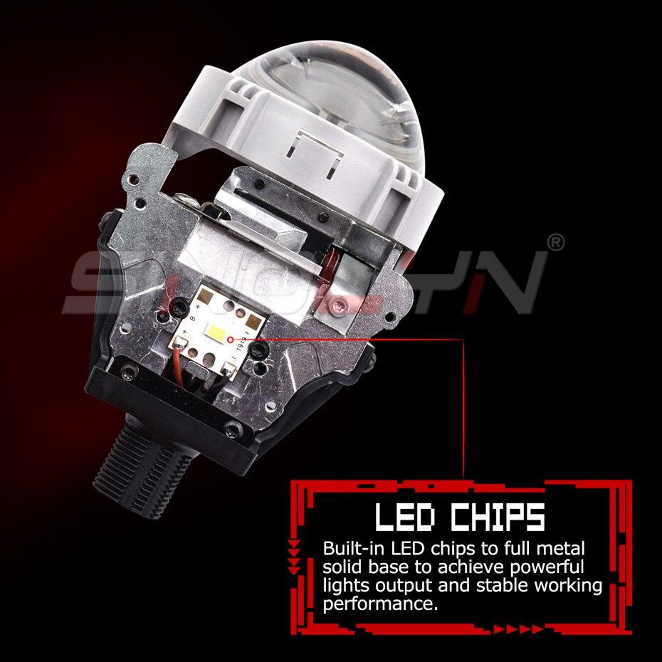 Osram carlight H7 led H11 H1 H4 LED bulb HB4 HB3 car led headlight 6000K HIR2 12V For Toyota Glory for Kia for Audi for BMW - 5