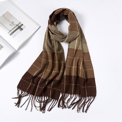 small size 180*30cm Brand Designer Winter Cashmere Scarves Men Scarf Cheap Warm Unisex Pakistan