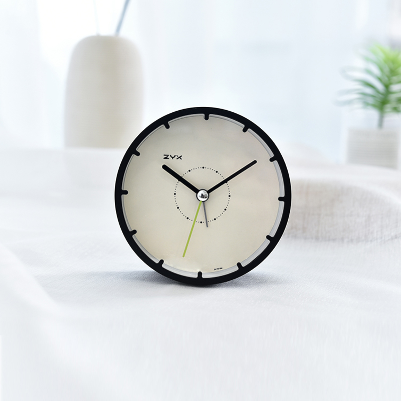 Desktop Alarm Clock Digital Mute Table Bedroom Clocks Vintage Table Clock Digital Table Clock 4 Inch Cretive Simple BB50W