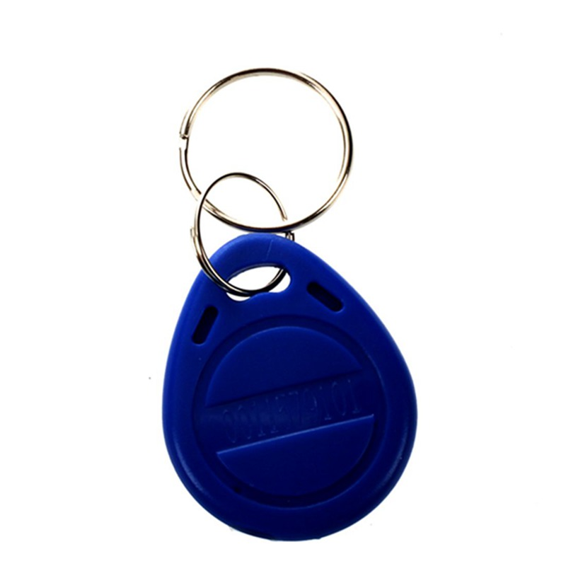 Hot 3C-10pcs 125khz RFID Proximity ID Token Key Tag Keychain Waterproof New